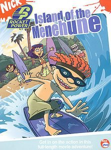Rocket Power - Island of the Menehune (DVD, 2004)