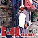 Breakin News [PA] by E-40 (CD, Sep-2003, Jive (USA))
