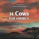 14 Cows for America by Carmen Agra Deedy (2009, Hardcover)