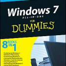 Windows 7 All-in-One For Dummies by Woody Leonhard (2009, Paperback)