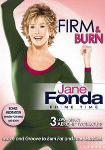 Jane Fonda: Prime Time - Firm & Burn (DVD, 2011)