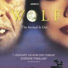 Wolf (DVD, 1997, Closed Captioned)