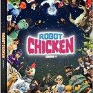 Robot Chicken: Season 4 (DVD, 2009, 2-Disc Set)