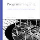 Programming in C by Stephen G. Kochan (2004, Paperback, Subsequent Edition)