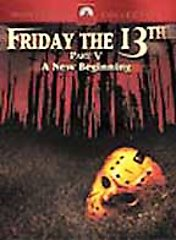 Friday the 13th - Part 5: A New Beginning (DVD, 2001, Sensormatic)