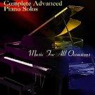 Complete Advanced Piano Solo by Dan Coates (2002, Paperback)