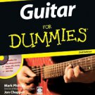 Guitar For Dummies by Mark Phillips and Jon Chappell (2005, Other, Mixed medi...