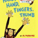 Hand, Hand, Fingers, Thumb by Al Perkins (1998, Hardcover, Board)