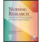 Nursing Research: Methods and Critical Appraisal for Evidence-Based Practice...