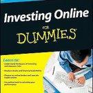 Investing Online for Dummies by Matt Krantz (2010, Paperback)