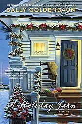 A Holiday Yarn by Sally Goldenbaum (2010, Hardcover)