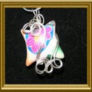 Summer Fun Wire Wrapped Polymer Clay Pillow
