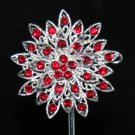 VINTAGE STYLE FLOWER BRIDAL WEDDING CAKE FLOWER BOUQUET BANQUET BLING BROOCH PIN