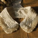 2012 ELEGANT IVORY VINTAGE LACE COTTON CHOKER NECK COLLAR NECKLACE