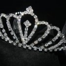 BRIDAL WEDDING RHINESTONE CRYSTAL CROWN HAIR TIARA COMB