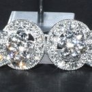 RHINESTONE CRYSTAL BRIDAL JEWELRY SEWING BUTTON CLOSURE MATCHING BUTTON CLASP