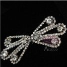 RHINESTONE CRYSTAL BUCKLE HOOK AND EYES SHAWL CAPE SHRUG SEW-ON CLOSURE BUTTON