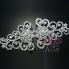 RHINESTONE CRYSTAL WEDDING BRIDAL BELT  SASH MATCH CLOSURE HOOK CLASP BUTTON