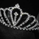 BRIDAL WEDDING RHINESTONE CRYSTAL CROWN HAIR TIARA COMB/ HEADBAND