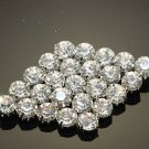 RHOMBUS RHINESTONE CRYSTAL WEDDING BRIDAL DRESS BELT SASH GOWN BROOCH PIN