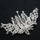 STAR DANGLE BRIDAL WEDDING SILVER RHINESTONE CRYSTAL TIARA HAIR COMB