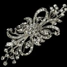 Vintage Style Floral Bouquet Rhinestone Crystal Wedding Bridal Alloy Brooch Pin