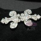 Classic Vintage Style Rhinestone Crystal Wedding Bridal Wrap Hook and Eye Clasp