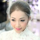 Handmade Wedding Bridal Russian Birdcage Netting Veil with Clip Craft DIY -CA