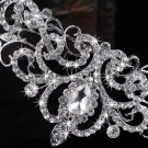 WEDDING BRIDAL VINTAGE STYLE RHINESTONE CRYSTAL TIARA HAIR CROWN -CA