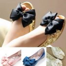 Bridal Wedding Black Cream Bluish Green Pink Ribbon Bow Butterfly Shoe Clips