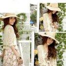 Wedding Flower Lace White/Ivory Shawl Waistcoat Bolero Outdoor Wrap Jacket