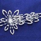 Wedding Bridal Rhinestone Crystal Flower Tiara Hair Comb