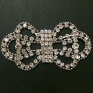 Rhinestone Crystal Wedding Bridal Belt Sash Craft Soft Applique Establishment
