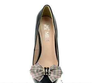 England English Style Plaid Check Grid Fashion Shoes Clips Charms Pairs