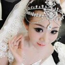 Wedding Rhinestone Crystal Hair Tiara Tikka Dangle Princess Crown Headpiece