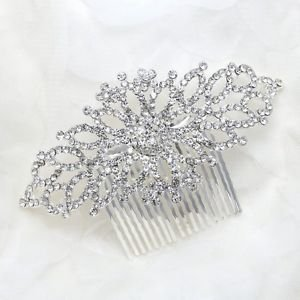 Bridal Wedding Hairpiece for Bride,Bridesmaid- Stunning Vintage Haircomb