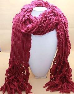 Women Azalea Bubble Scarf Elastic Fabric Winter Elasticated Warm Scarves