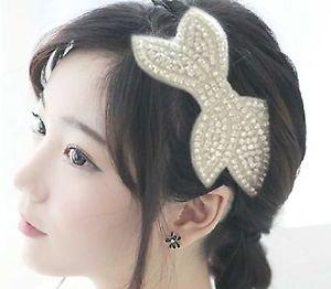 Wedding Hair Clip,Rhinestone Crystal Hair Accessories,Bridal Leaf Alligator Clip