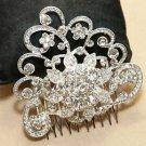 Bridal Wedding Vintage Style Rhinestone Crystal Hair Comb Headpiece Jewelry