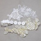 Bridal Wedding Veil Dress Mix Lace Fabric Package DIY