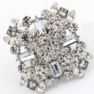 Vintage Style Wedding Bridal Rhinestone Crystal Brooch Pin Jewelry Accessories