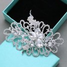 Large Wedding Diamante Crystal Rhinestone Sew On Metal Establishment
