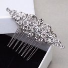 Vintage Wedding Rhinestone Headpiece Crystal Hair Comb Bridal Accessories