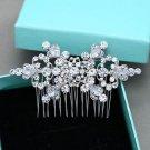 Bridal Rhinestone Comb Wedding Vintage Hair Comb Crystal Headpiece