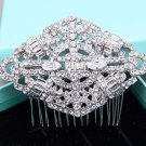 Vintage Bridal Rhinestone Comb Wedding Hair Clip Crystal Headpiece Accessories