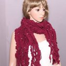 Fashion Women Ladies Pearl Azalea Acrylic Wool Winter Scarf Shawl