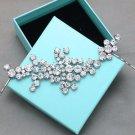 Vintage Style Wedding Bridal Rhinestone Crystal Headpiece / Establishment