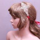 Rhinestone Applique Vintage Style Wedding Headpiece Bridal Crystal Hair Headband