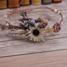 Woodland Forest Wedding Berry Pine Flower Handmade Tiara Headpiece