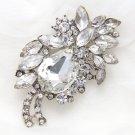 Rhinestone Crystal Hair Accessories Craft Wedding Cake Sash Dress Brooch Pin